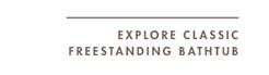 EXPLORE CLASSIC FREESTANDING BATHTUB