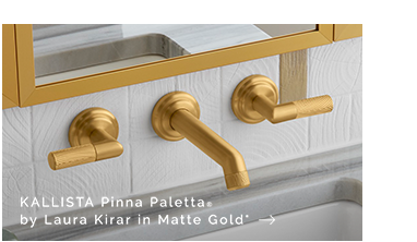 KALLISTA Pinna Paletta® by Laura Kirar in Matte Gold*