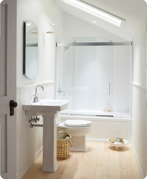 9 Tips for Small Baths