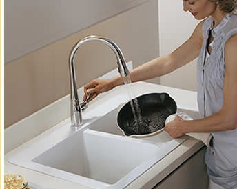 See all kitchen sinks made of Vikrell.