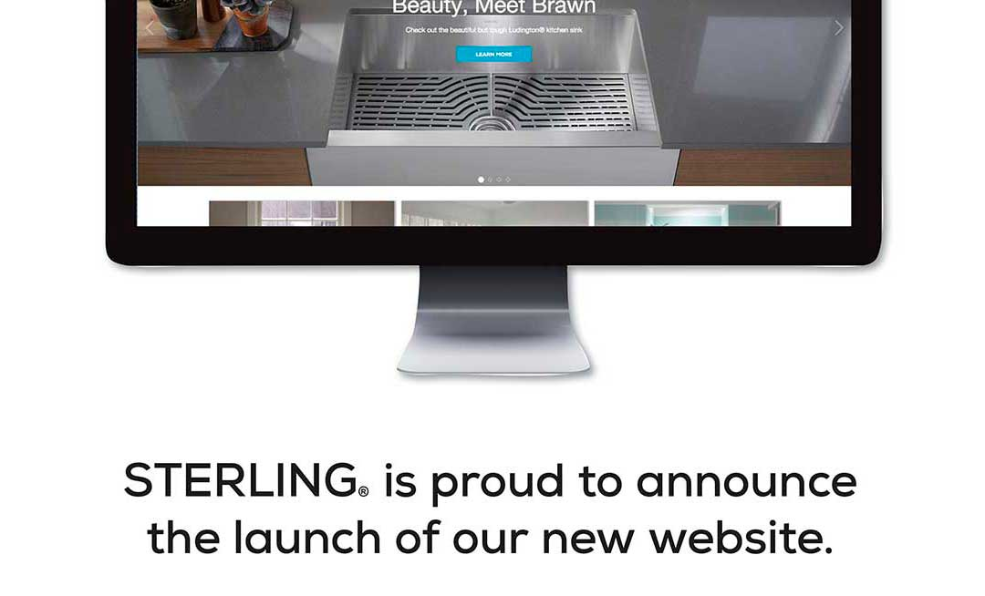 STERLING® is proud to announce the launch of our new website.